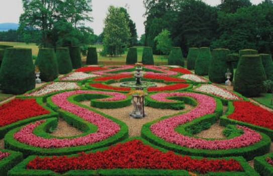 Bodrhyddan Garden Denbighshire
