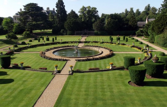 Belton House Garden in Lincolnshire