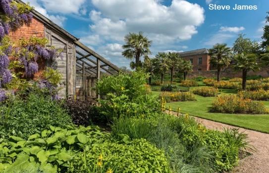 Calke Abbey Garden