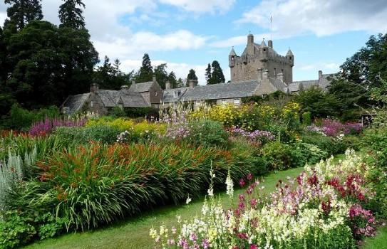 Cawdor Castle and gardens near Inverness