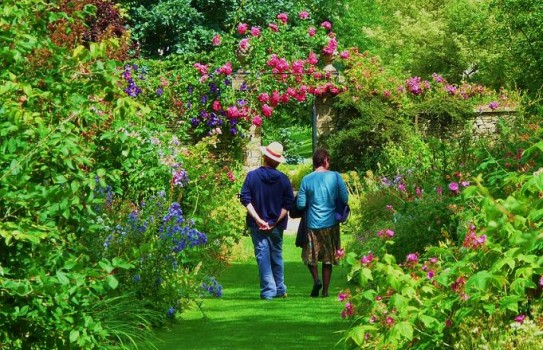 Cerney House Garden in Gloucestershire