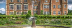 The beautiful gardens at Hatfield House