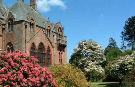 Mount Stuart on the Isle of Bute