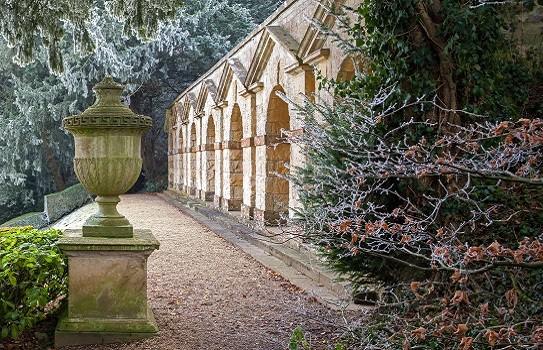 Rousham House Garden