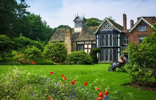 Rufford Old Hall Garden