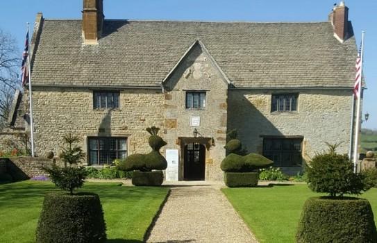 Sulgrave Manor Garden