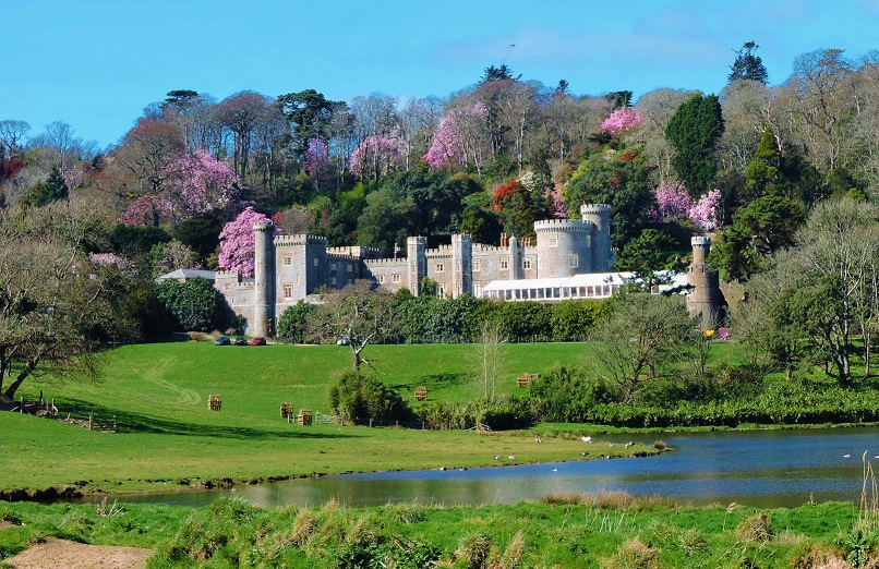 caerhays castle garden