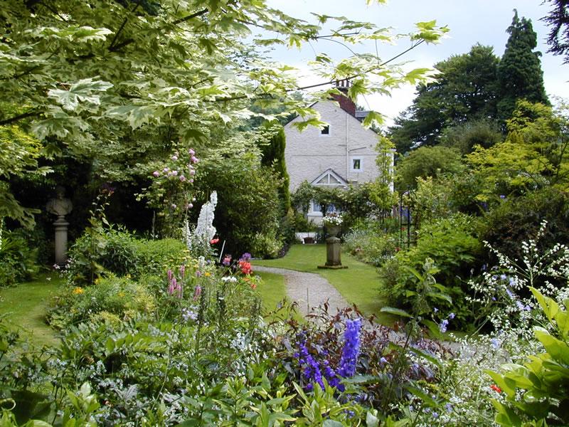 Cascade Gardens Near Matlock Great British Gardens