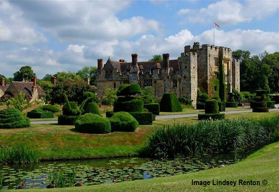 Hever Castle Gardens Edenbridge Hotels Great British