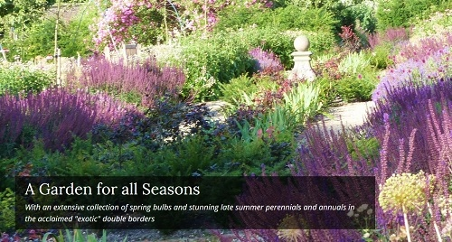 Sledmere House Garden, a delightful place to visit and another of